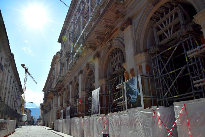 Corso Vittorio Emanuele II, L'Aquila